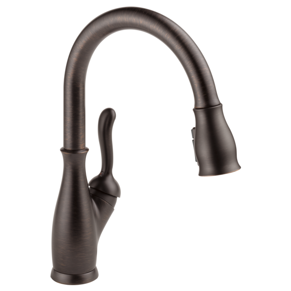 Leland Single Handle Pull-Down Kitchen Faucet with ShieldSpray Technology