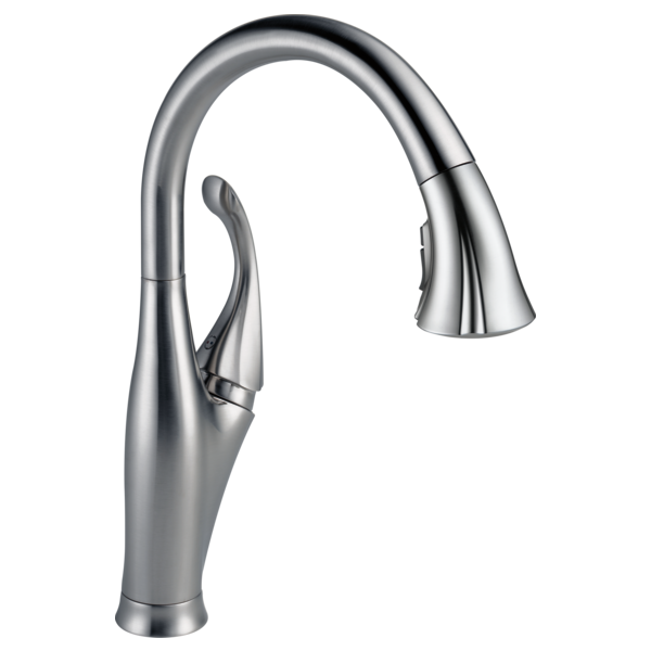 Addison Single Handle Pull-Down Kitchen Faucet with ShieldSpray Technology