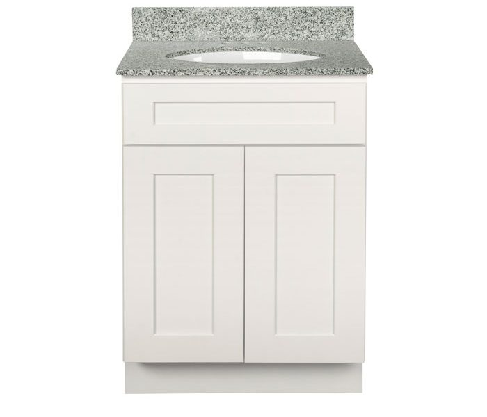 Brokering Solutions Cabinets, Shaker White