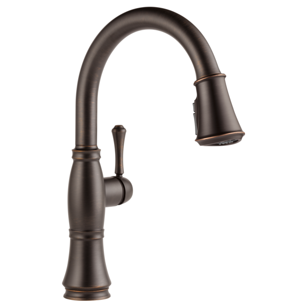 Cassidy Single Handle Pull-Down Kitchen Faucet with ShieldSpray Technology
